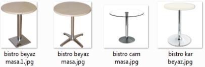 Bar masaları