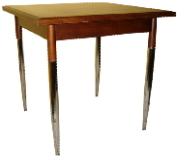 Metal ayaklı ahşap masa kiralama